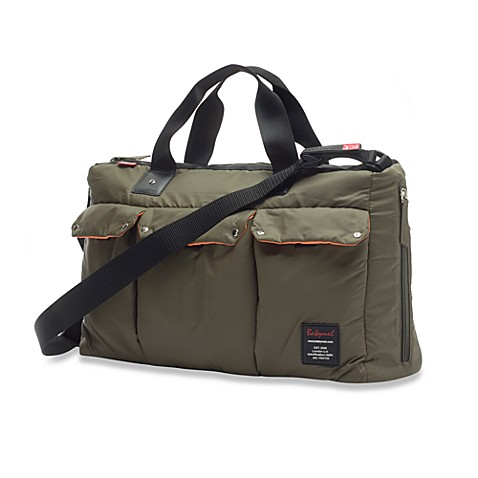 Babymel™ Soho Messenger Bag in Forest Green