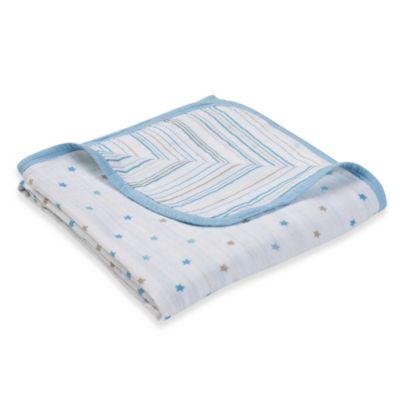 "aden™ by aden + anais® ""Oh Boy!"" Muslin Stroller Blanket"