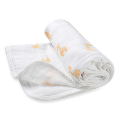 "aden™ by aden + anais® ""Safari Friends"" Muslin Stroller Blanket"