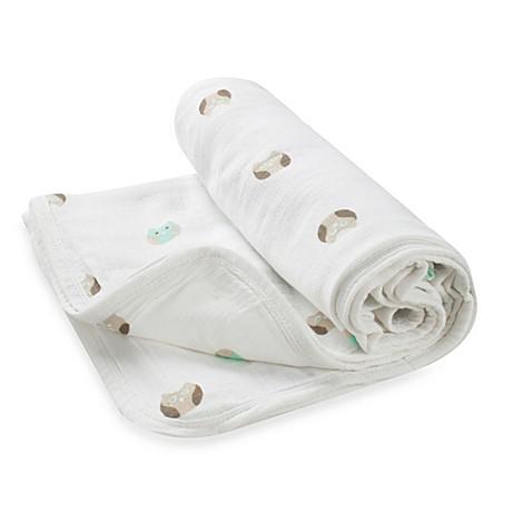 "Stroller Blankets > aden® by aden + anais® ""Goodnight Owl"" Muslin Stroller Blanket"