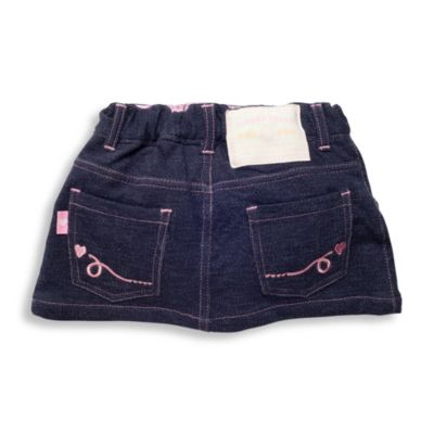 Elegant Baby® My First Size 6-12M Denim Skirt