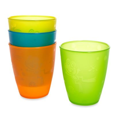 Fun 4-Pack 9-Ounce Drinking Cups