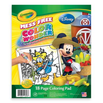 Crayola® Color Wonder Disney Jr. Coloring Pad