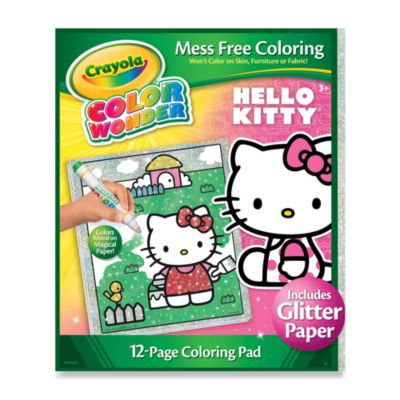 Crayola® Color Wonder Hello Kitty Glitter Coloring Pad