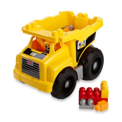 Pretend Play > CAT Dump Truck by Mega Bloks