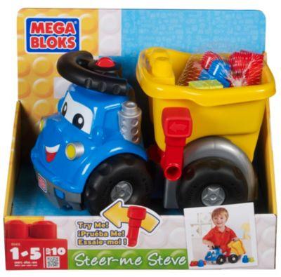 Pretend Play > Steer-Me Steve Dump Truck by Mega Bloks