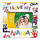 Prinz Made with Love I Love My Nana Wood Photo Frame