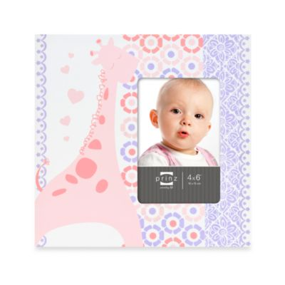 Frames > Prinz Adorables Picture Frame in Giraffe
