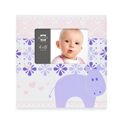 Buy Buy Baby > Prinz Adorables Picture Frame in Hippo