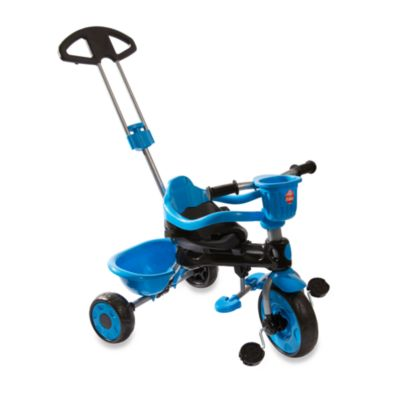 My-Trike MT30 3-in-1 Blue and Black Tricycle