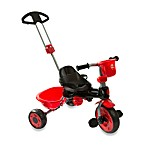 My-Trike MT30 3-in-1 Red and Black Tricycle