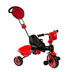My-Trike MT40 3-in-1 Red and Black Tricycle