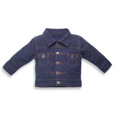Elegant Baby Boy's Size 6 to 12 Months My First Jean Jacket