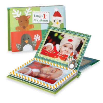 C.R. Gibson® Baby's First Christmas Pop-Up Brag Book
