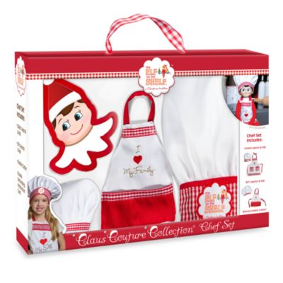 The Elf on the Shelf® Claus Couture Collection™ Chef Apron Set