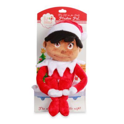 The Elf on the Shelf® Girl Plushee Pal in Dark Skin Tone
