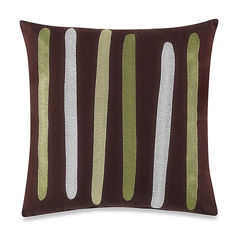 notNeutral® Pin wheel 18-Inch x 18-Inch Decorative Pillow