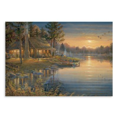 Surfaces A Peaceful Place 18-Inch x 27-Inch Kitchen Floormat