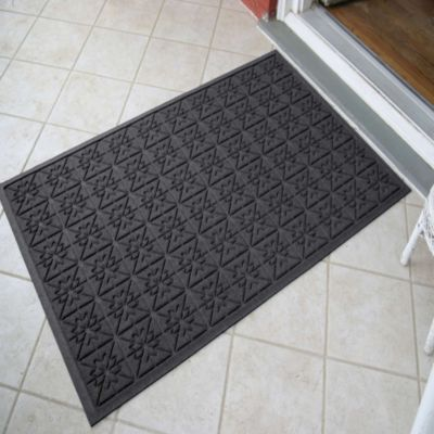 Weather Guard™ Star 35-Inch x 57-Inch Foot Door Mat in Gray