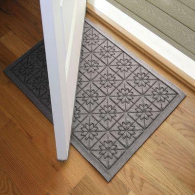 Weather Guard™ Star 23-Inch x 35-Inch Door Mat in Grey