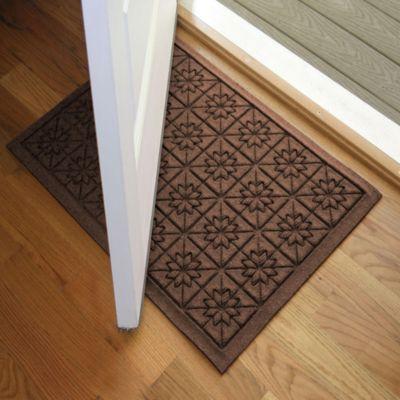 Weather Guard™ Star 23-Inch x 35-Inch Door Mat in Dark Brown