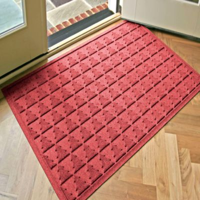 Weather Guard™ Pine Tree 31.75-Inch x 50.75-Inch Door Mat in Brown