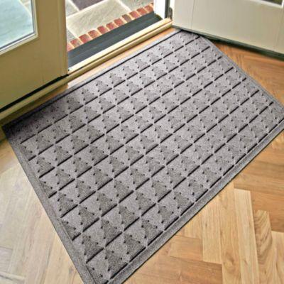 Weather Guard™ Pine Tree 31.75-Inch x 50.75-Inch Door Mat in Grey