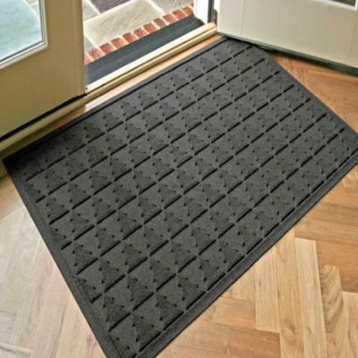 Weather Guard™ Pine Tree 31.75-Inch x 50.75-Inch Door Mat in Charcoal