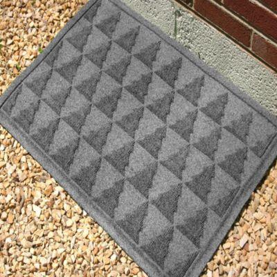 Weather Guard™ Pine Tree 23-Inch x 35-Inch Door Mat in Gray