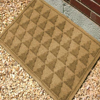Weather Guard™ Pine Tree 23-Inch x 35-Inch Door Mat in Gold