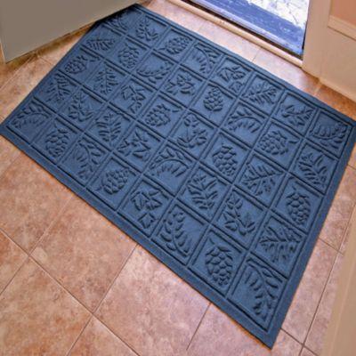 Weather Guard™ Nature Walk 34-Inch x 52-Inch Door Mat in Navy