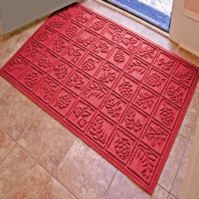 Weather Guard™ Nature Walk 34-Inch x 52-Inch Door Mat in Red