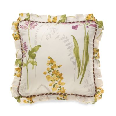 Willamsburg® Abigail Floral Printed Square Toss Pillow