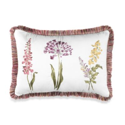 Willamsburg® Abigail Floral Breakfast Toss Pillow