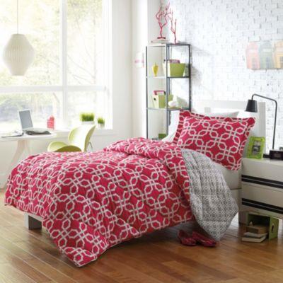 Micro Splendor Quinn Twin/TXL Reversible Comforter Set