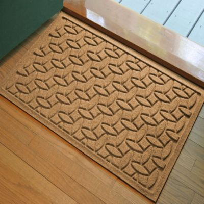 Weather Guard™ Ellipse 2-Foot x 3-Foot Door Mat in Medium Brown