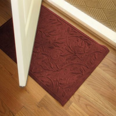 Microfibre® Low Profile Wisteria 2-Foot x 3-Foot Door Mat in Chocolate