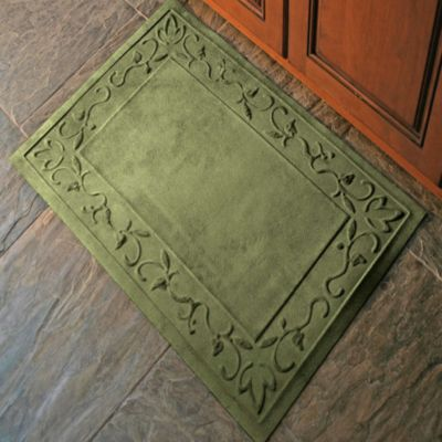 Microfibre® Low Profile Vine 2-Foot x 3-Foot Door Mat in Chocolate