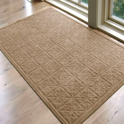 Microfibre Low Profile 3-Foot x 5-Foot Door Mat in Chocolate