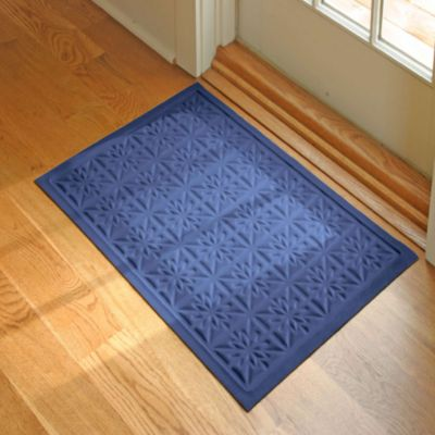 Microfibre® Low Profile Star 2-Foot x 3-Foot Door Mat in Chocolate