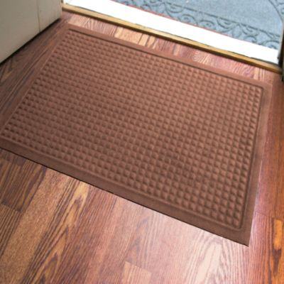 Microfibre® Low Profile Squares 2-Foot x 3-Foot Door Mat in Chocolate