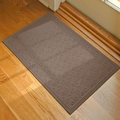 Microfibre® Low 2-Foot x 3-Foot Door Mat in Chocolate