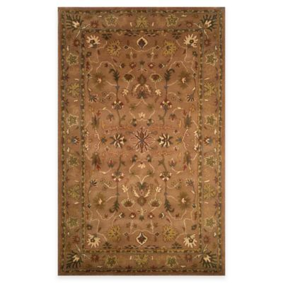12 Brown Wool Rug