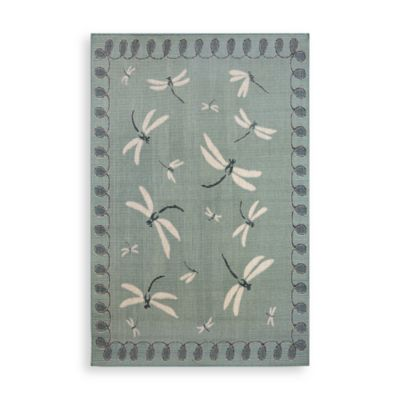 Trans-Ocean Dragonfly Indoor/Outdoor Rug