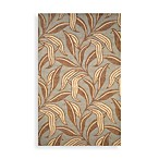 Trans-Ocean Leaf Indoor/Outdoor Rug in Driftwood