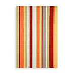 Trans-Ocean Vertical Stripe Gypsy Indoor/Outdoor Rug