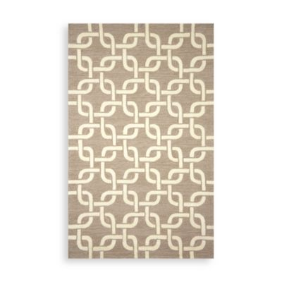 Chains 2-Foot x 8-Foot Indoor/Outdoor Rug