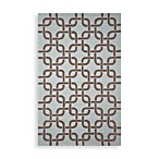 Trans-Ocean Chains Indoor/Outdoor Rug in Driftwood