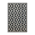 Trans-Ocean Arabesque Rug in Midnight