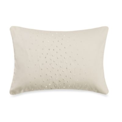 Barbara Barry® Aurora Ombre Breakfast Toss Pillow in Moonglow